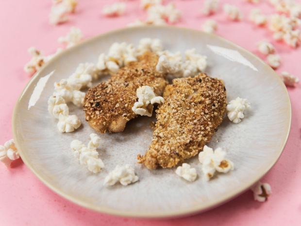 Rezept Für Schnitzel Mit Popcorn Panade Kitchengirls