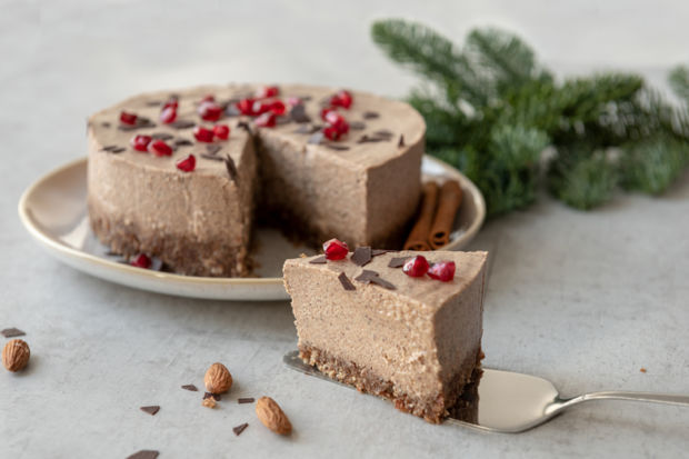 Vegane No Bake Lebkuchen Torte Kitchengirls