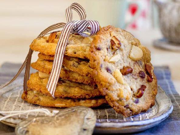 Schoko Nuss Cookies Kitchengirls