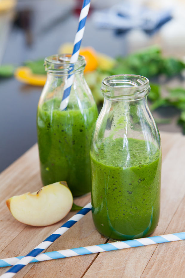 Rezept für Spinat-Apfel-Smoothie | Kitchengirls