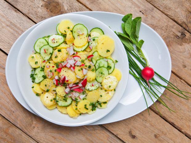 Rezept Für Kartoffelsalat Mit Brühe Kitchengirls