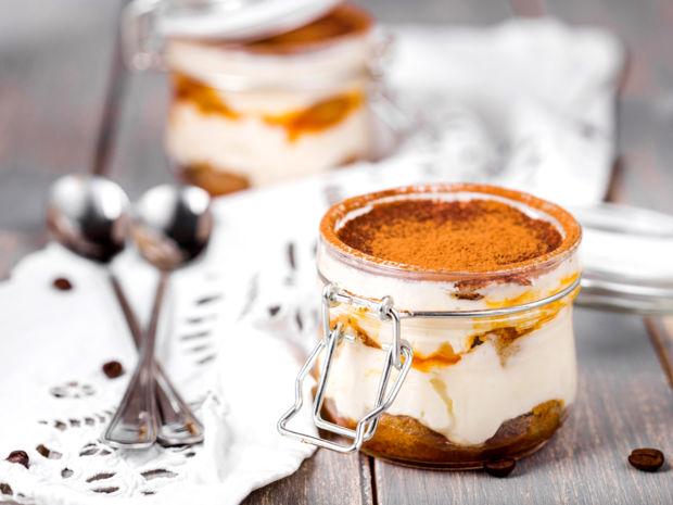 Dessert Zum Weihnachtsessen.Lebkuchen Tiramisu