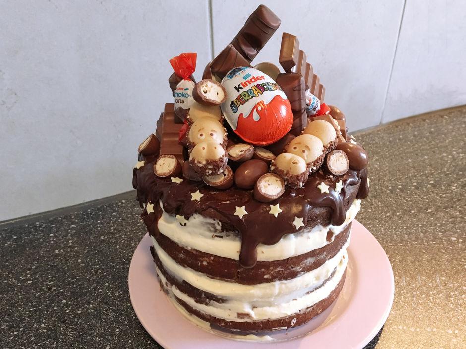kinderschokoladentorte rezept kitchengirls