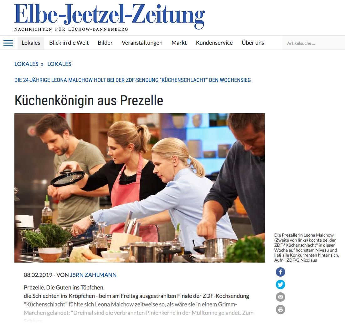Leona Küchenschlacht
